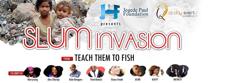 Slum Invasion 2014 – Teach them to fish