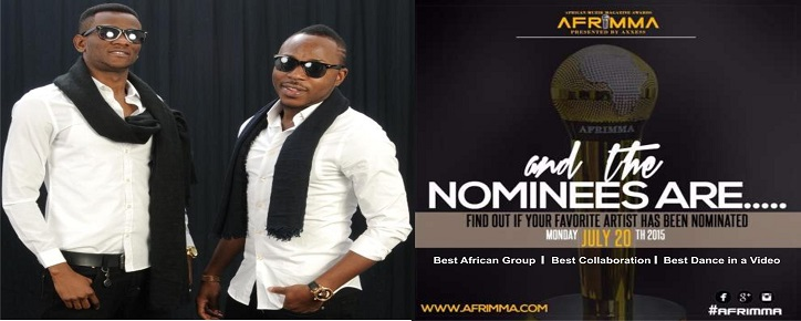 TOOFAN Nominated again at AFRIMMA in 3 Categories