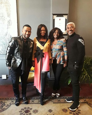 Olajumoke Storms South Africa for the second time
