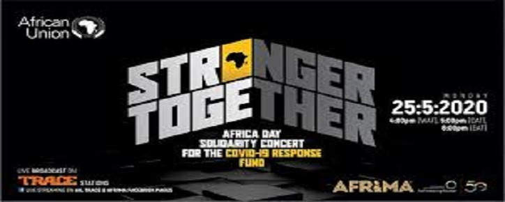 Qtaby co-produces #StrongerTogether Solidarity Concert for COVID-19 Response fund for AU & AFRIMA to mark Africa Day