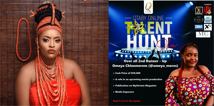 Second Runner Up of Qtaby Online Talent Hunt gets published on a mainstream media platform